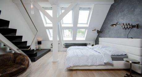 A Renovated Attic Apartment in Prague