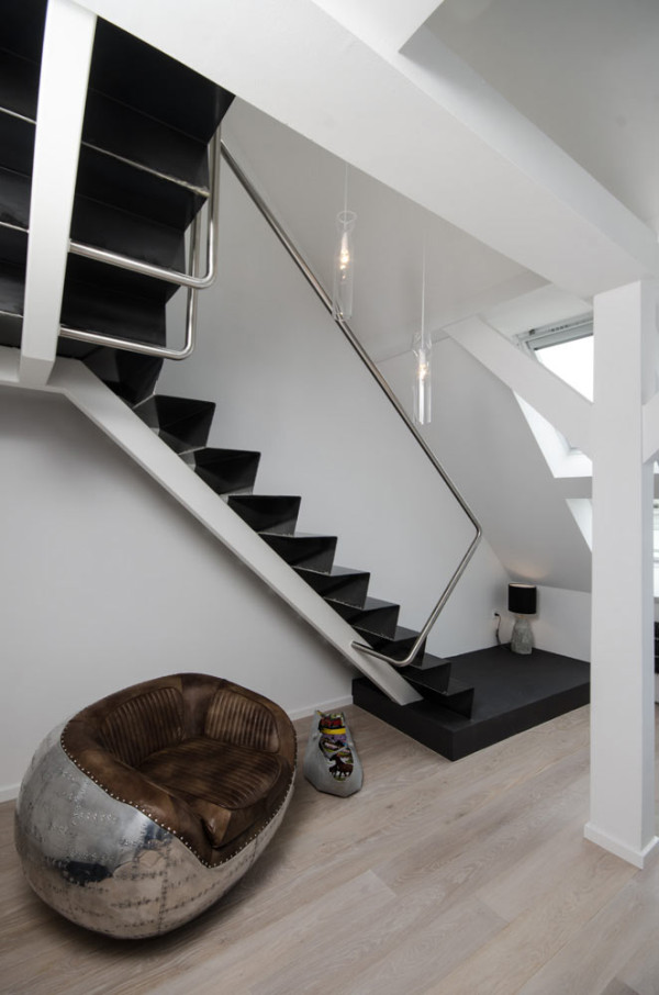 A Renovated Attic Apartment in Prague in main interior design architecture  Category