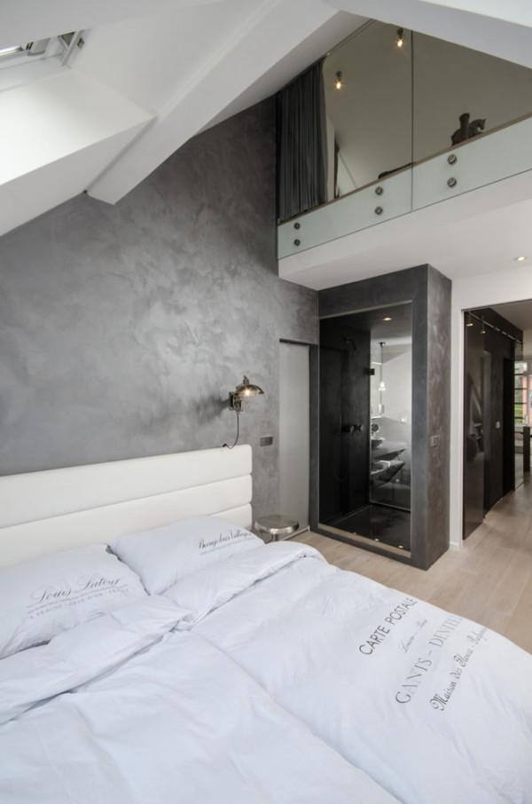 A renovated attic apartment in prague design milk for Design apartment in prague 6