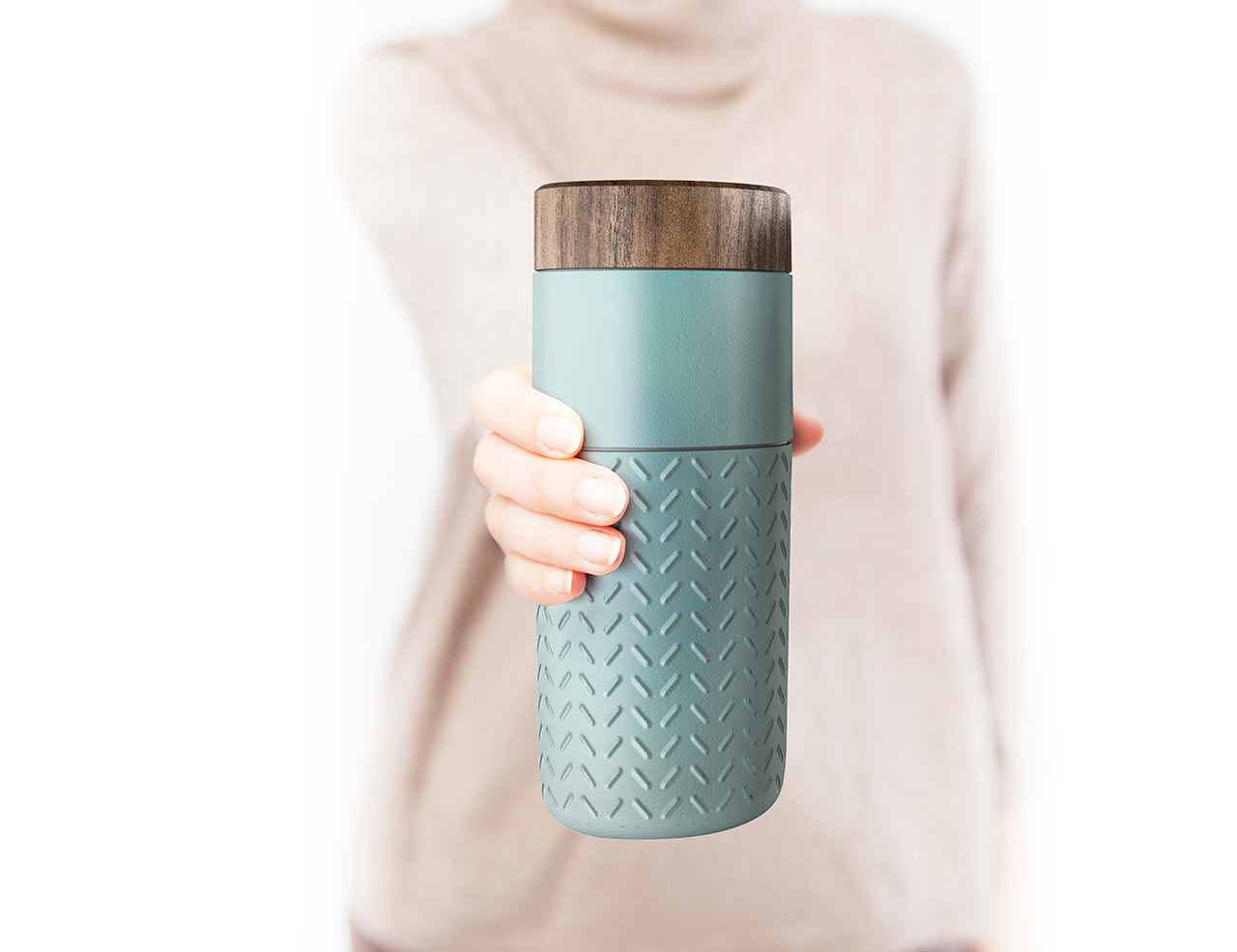 one o one travel mug by hangar design group design milk