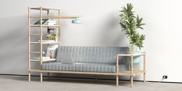 A Multifunctional Sofa Named Herb in main home furnishings  Category