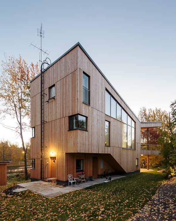 A Multigenerational House in Helsinki, Finland in main architecture  Category