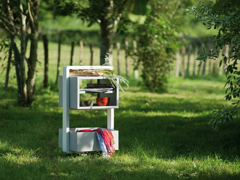 KAMA Outdoor Food Trolley from EGO Paris