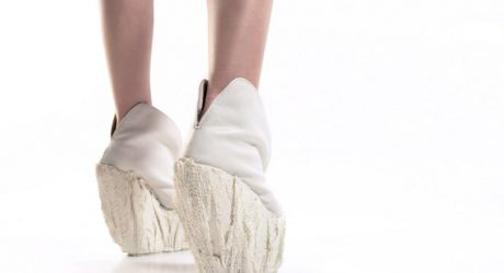 Porcelain Platform Shoes by Laura Papp