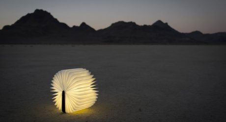 Lumio: A Portable Light That Opens Up Like a Book