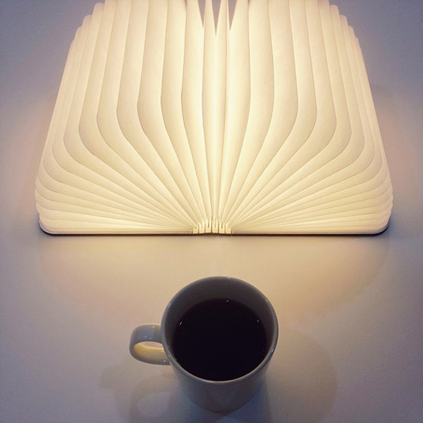 Lumio: A Portable Light That Opens Up Like a Book in main home furnishings  Category