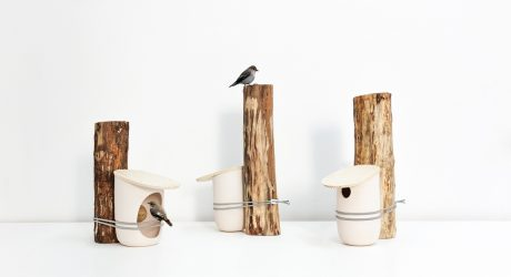 Mikko Birdhouses & Feeders by Pygmalion Studio