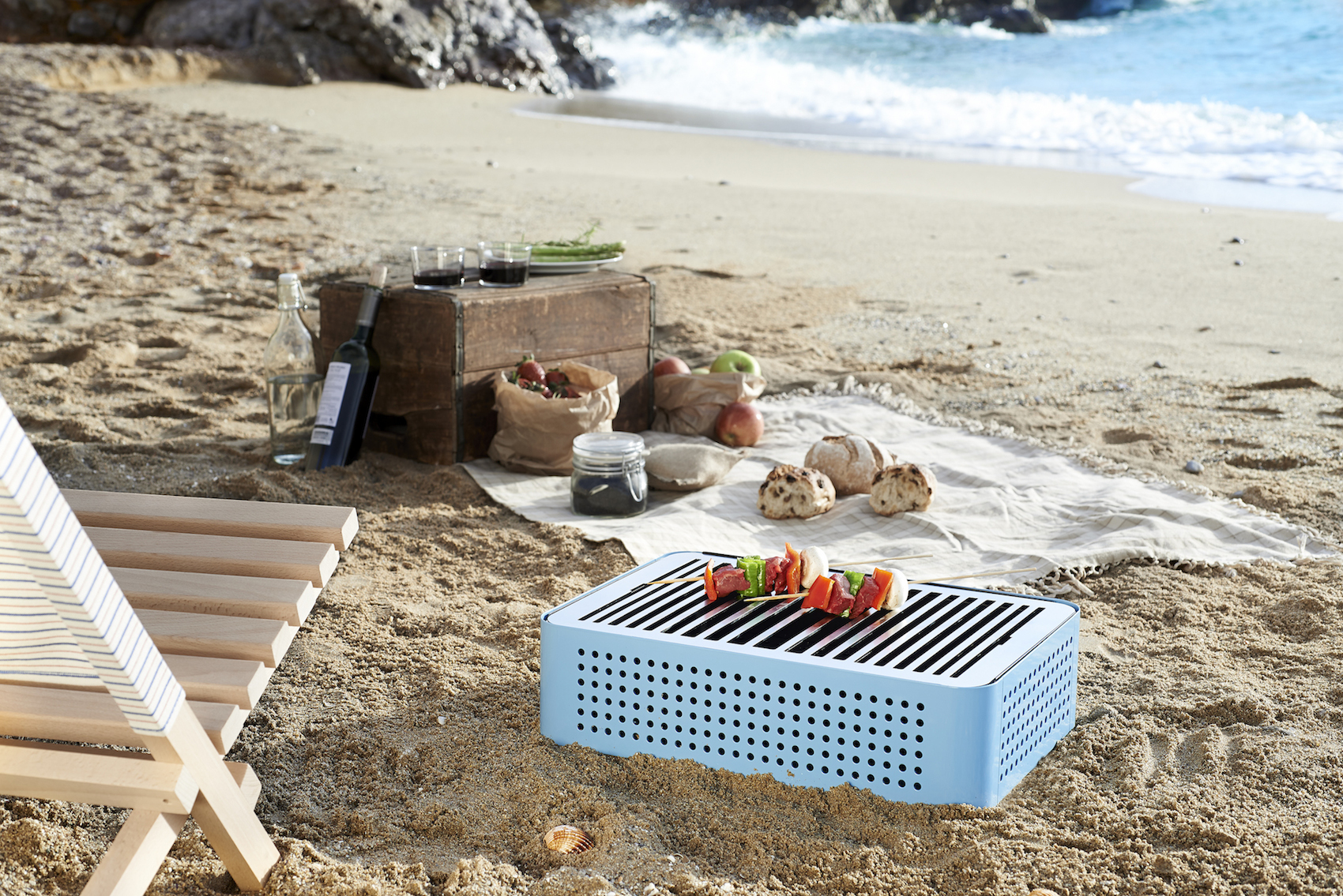 Mon Oncle Portable BBQ Grill by RS Barcelona