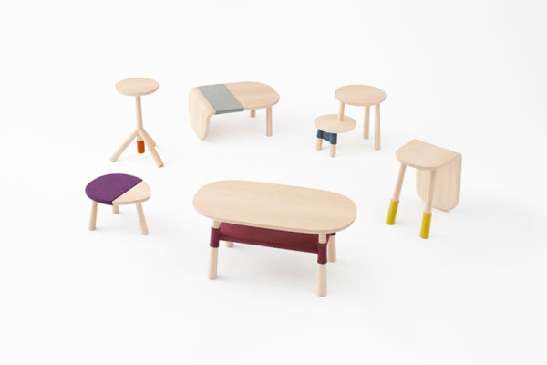 A Table Collection Based on Winnie the Pooh by nendo
