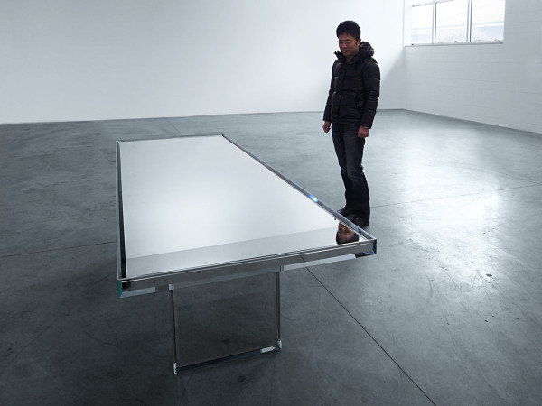 PRISM Mirror Table designed by Tokujin Yoshioka in main home furnishings  Category