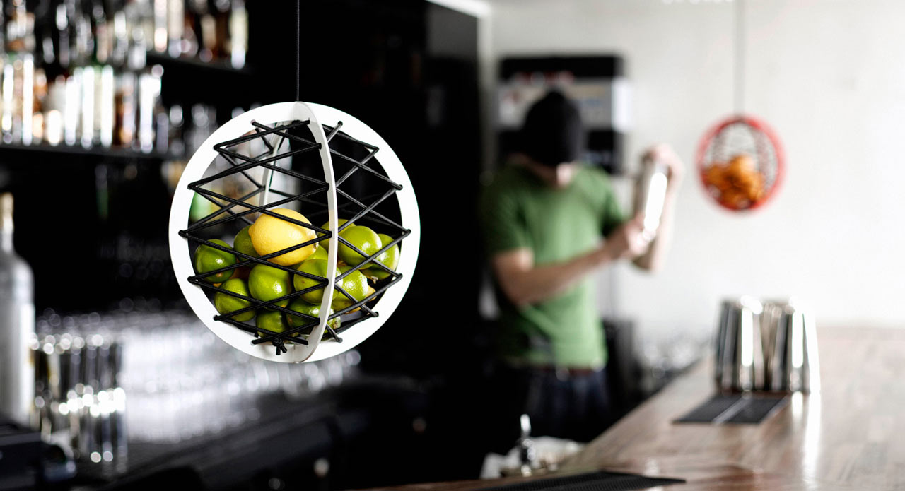 Pluk Suspended Storage Sphere
