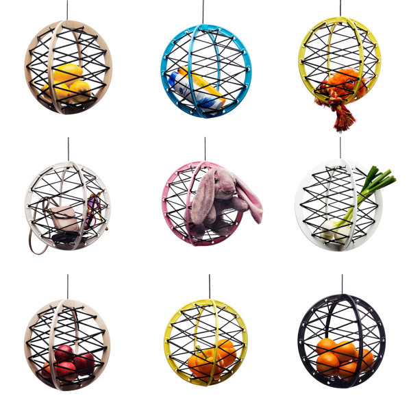 Pluk Suspended Storage Sphere in main home furnishings  Category