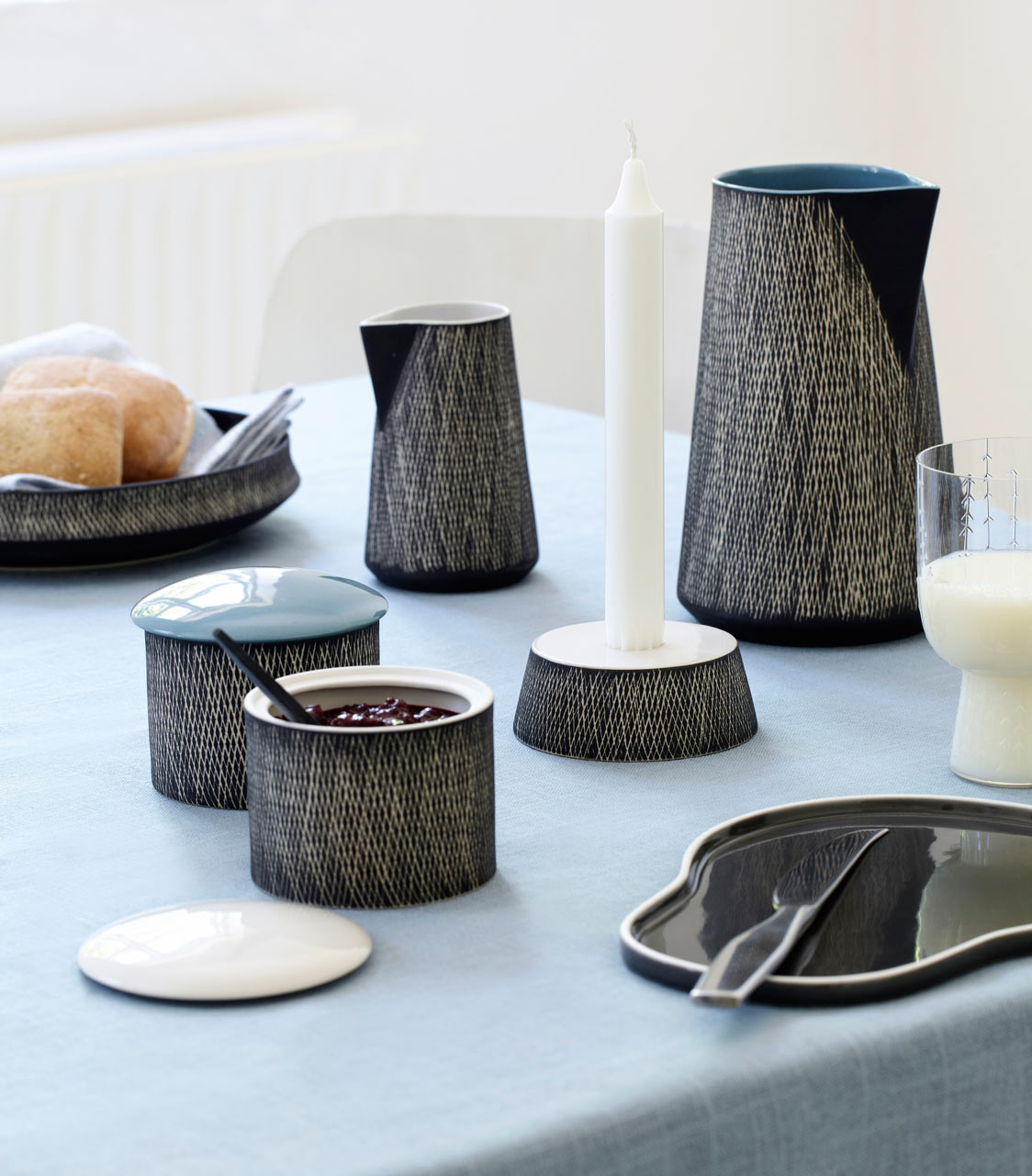 Rikki Tikki Just Retro Ceramic Tableware ... & Modern Tableware with a Retro Contemporary Vibe - Design Milk