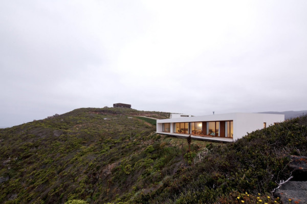Modern White House On A Cliff With Dramatic Sea Views in main architecture  Category