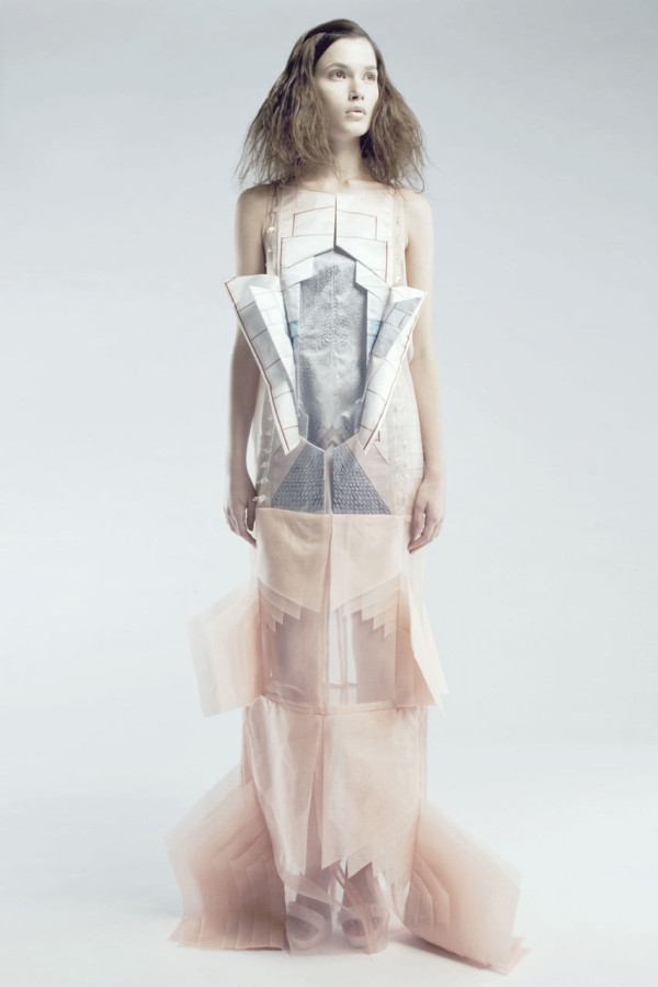 Hand Pleated Clothing Inspired by Architecture in style fashion main  Category