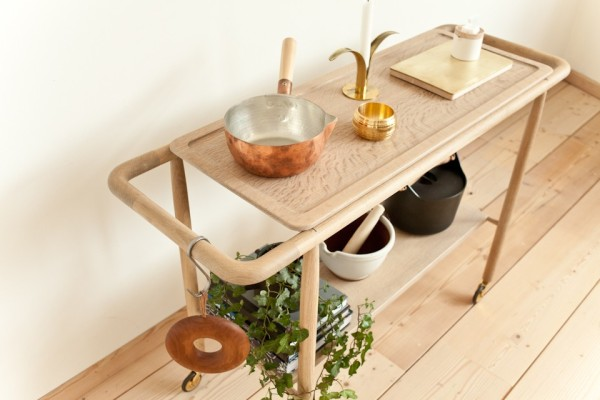 Baking Cart by Mjolk and Studio Junction in main home furnishings  Category