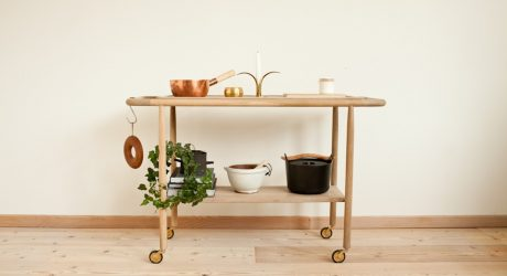 Baking Cart by Mjolk and Studio Junction