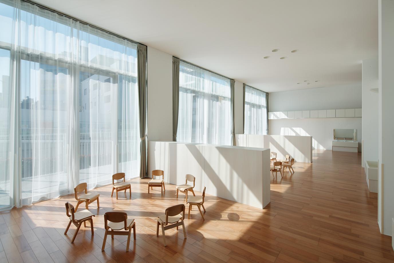 Interior Design Main Day Nursery In Japan By Takeshi Yamagata Architects