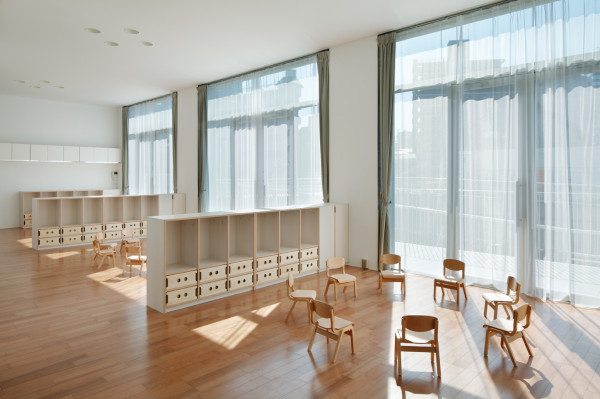 Day Nursery in Japan by Takeshi Yamagata Architects in main interior design  Category