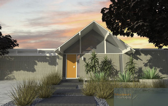 A brand new eichler home now it 39 s possible design milk for Eichler designs