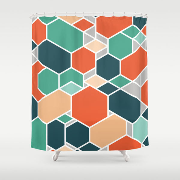 Fresh From The Dairy: Shower Curtains