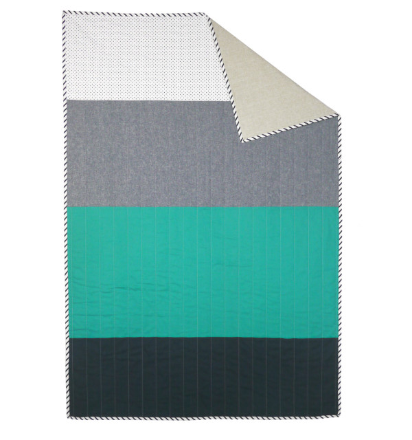 The Deep End quilt