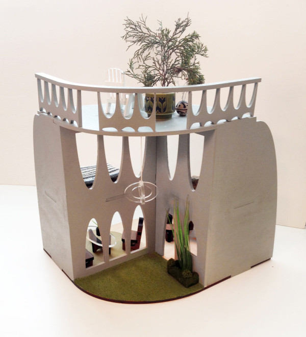 Modern Sustainable Dollhouse 2