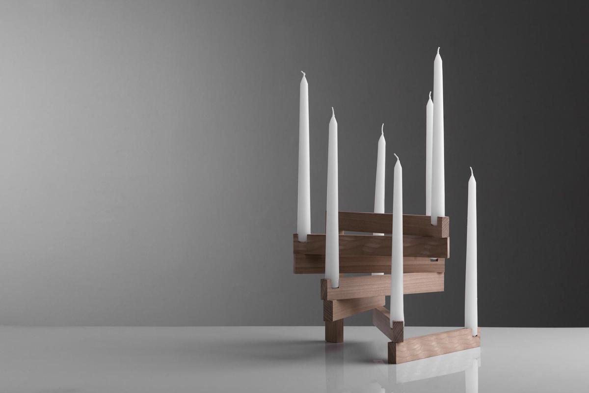 links candle holder