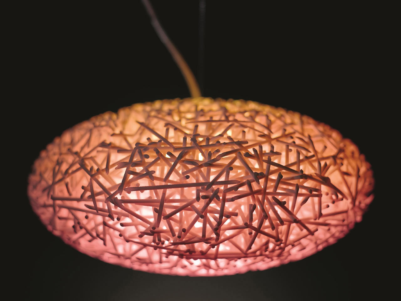3D-Printed Lamps with Color-Changing Bulbs