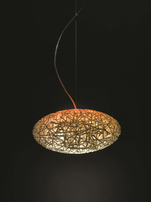 3D Printed Lamps with Color Changing Bulbs in technology main home furnishings  Category