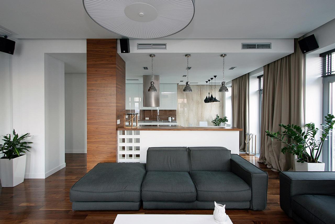 A Modern Apartment in a City\'s Historic Center - Design Milk