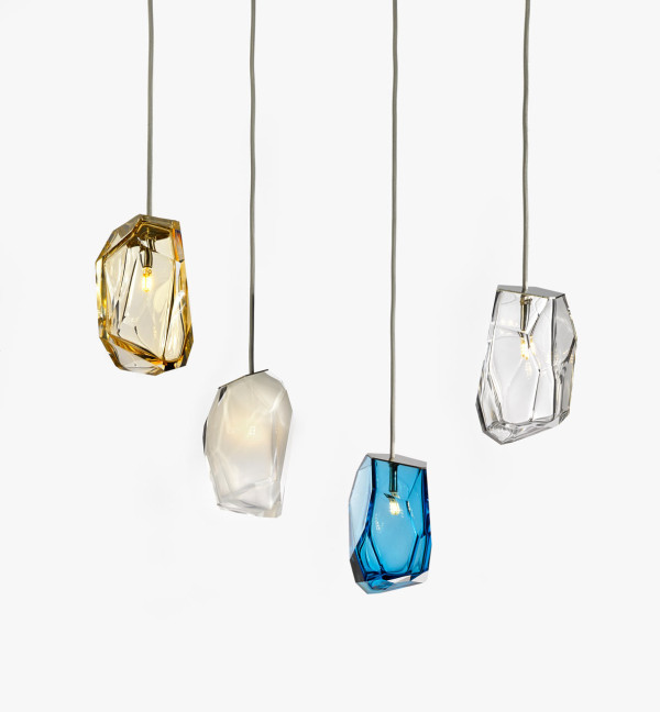Crystal rock lighting by arik levy for lasvit design milk arik levy crystal rock lighting 2 aloadofball Images