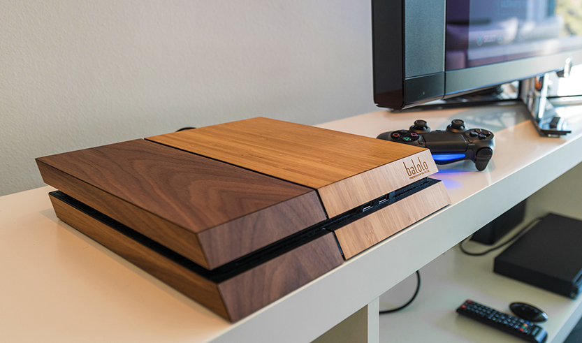 Balolo XBox One and PS 4 Wood Gaming Console Covers