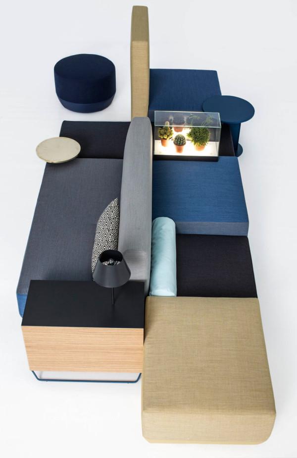 Bikini Island by Werner Aisslinger for Moroso in main home furnishings  Category
