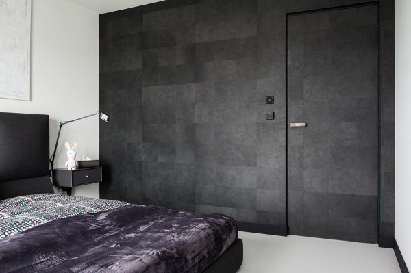 A Modern, Black & White Apartment in Poland in main interior design architecture  Category
