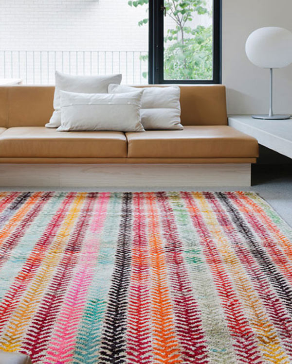18 Rooms With Colorful Rugs Design Milk