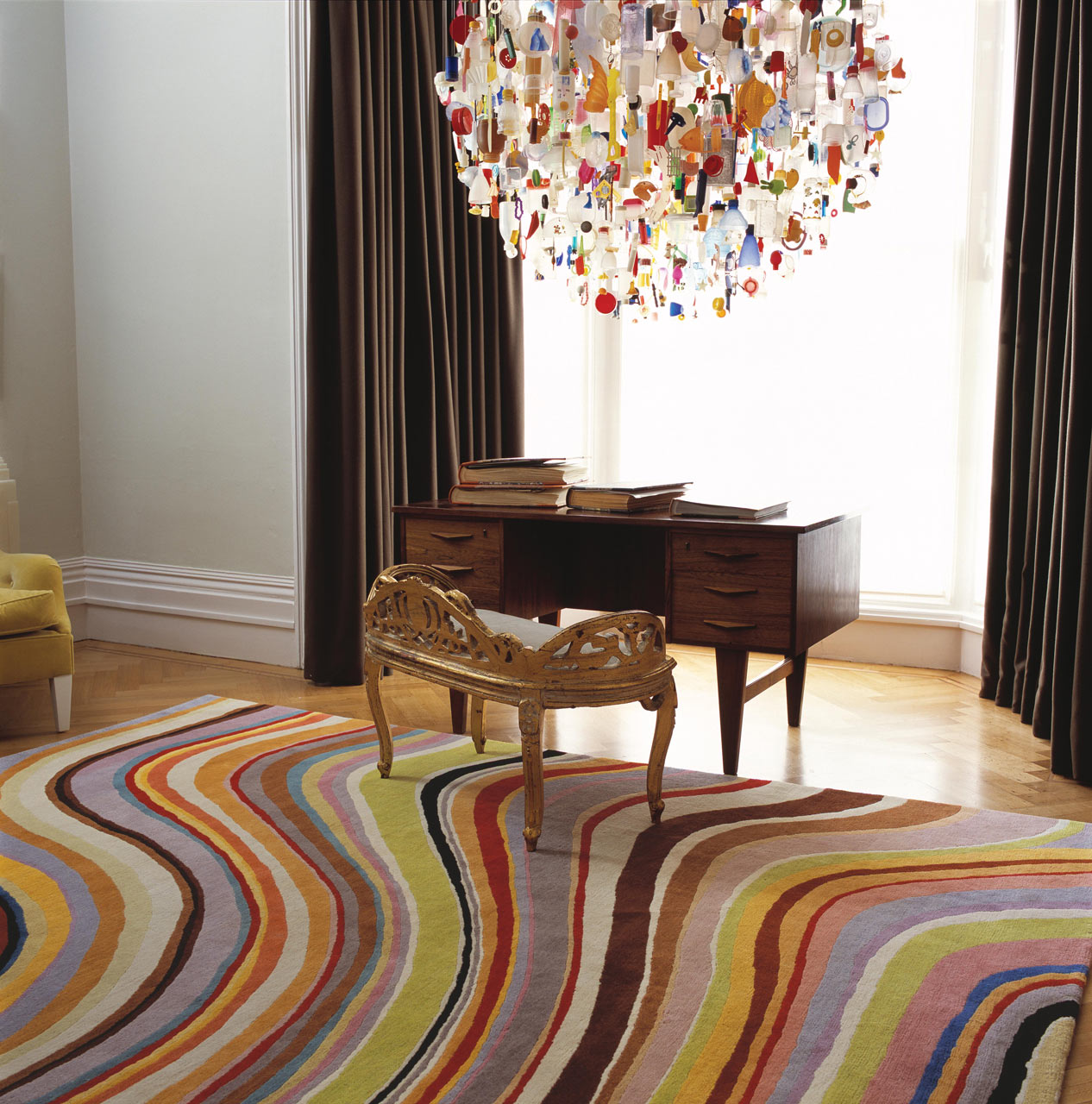 Colorful-Rug-Paul-Smith-Swirl