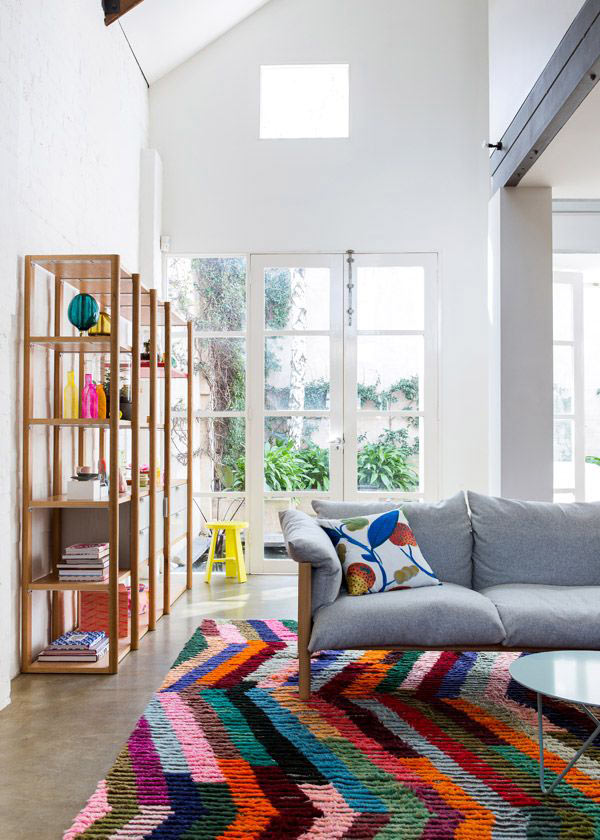 Colorful-Rug-The-Design-Files-Open-House