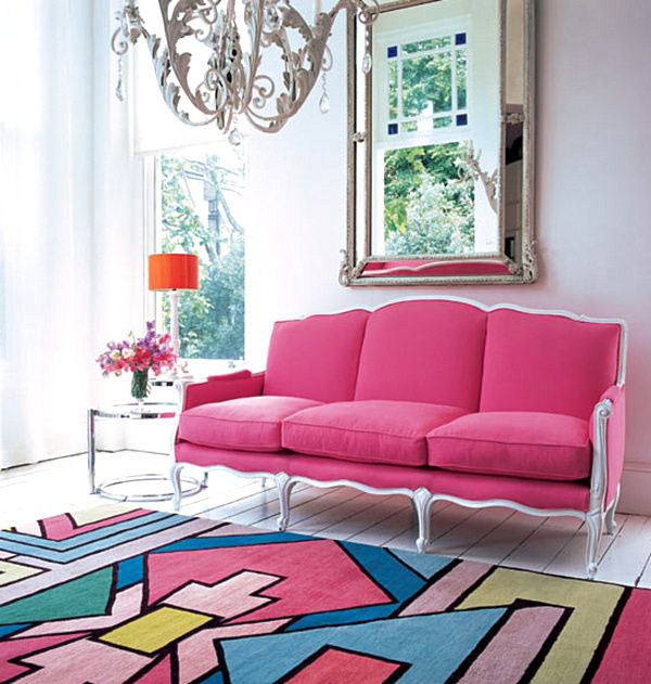 18 Rooms with Colorful Rugs in main interior design home furnishings  Category