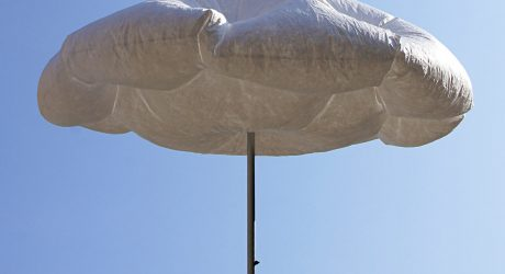 A Parasol that Inflates When the Sun is Shining