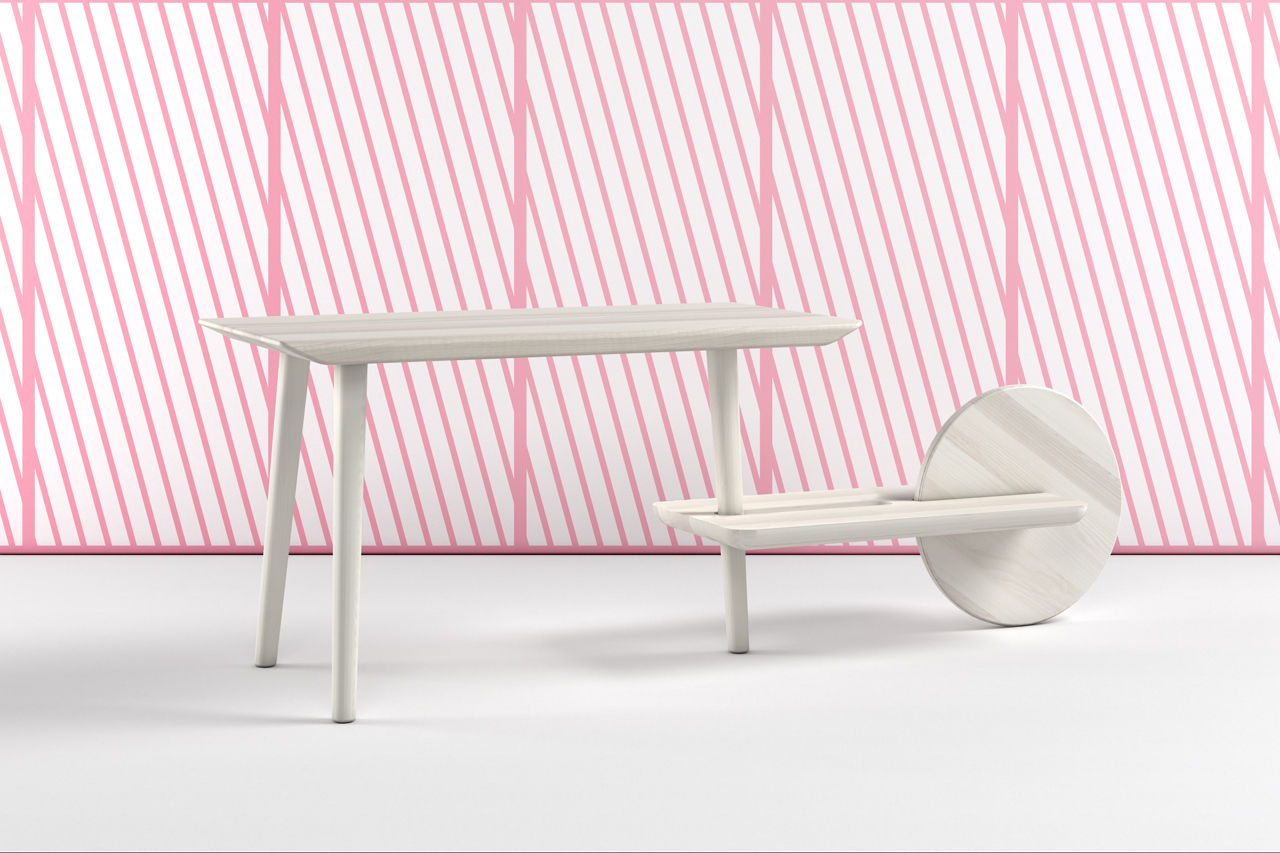 DOT: A Table with a Movable Auxiliary Table Attached