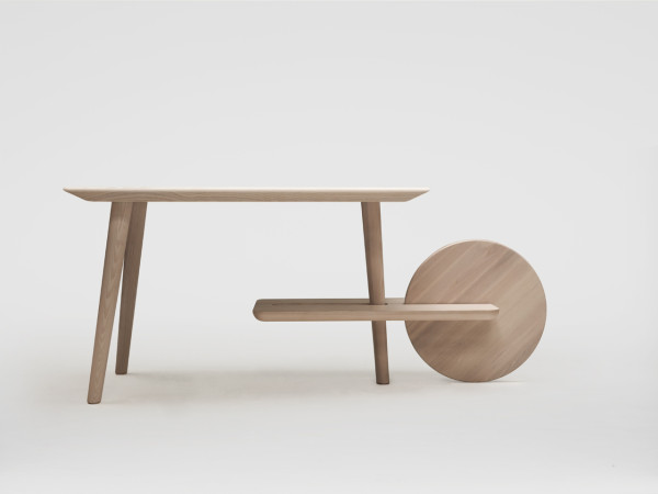 DOT: A Table with a Movable Auxiliary Table Attached in main home furnishings  Category