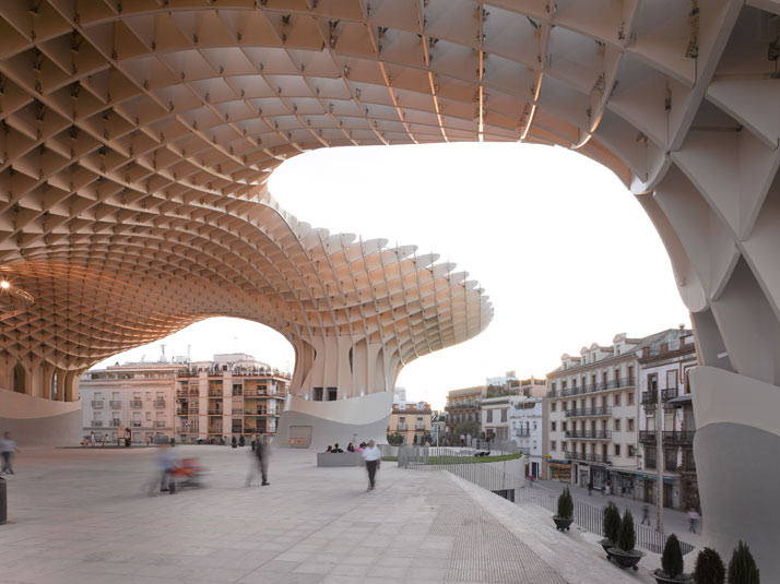 Metropol Parasol in Seville \\\ Photo by David Franck