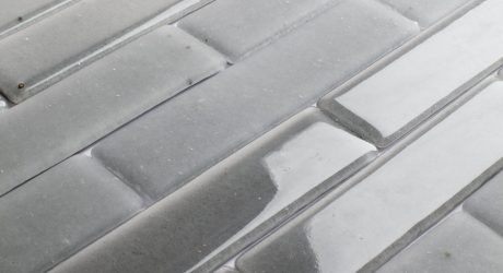 Tiles Made From Hard-to-Recycle Cathode Ray Tubes (CRT)