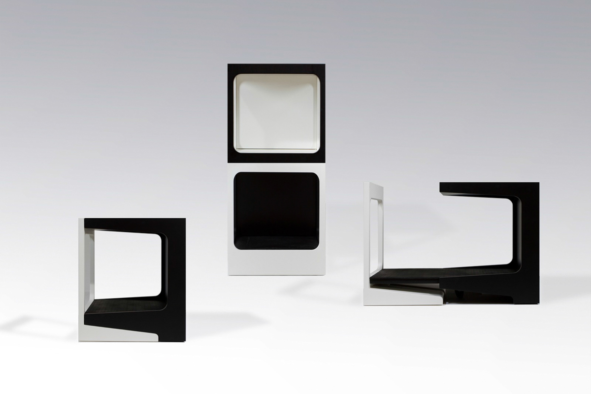 Futura: A Modular Storage Unit with a Hidden Panel