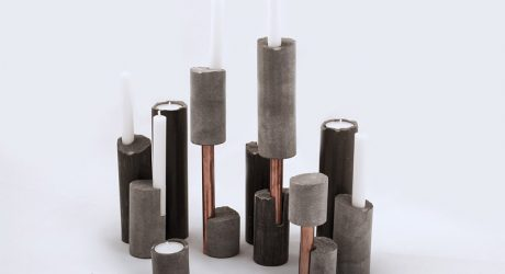 Recycled Stone Objects Designed by Ghigos