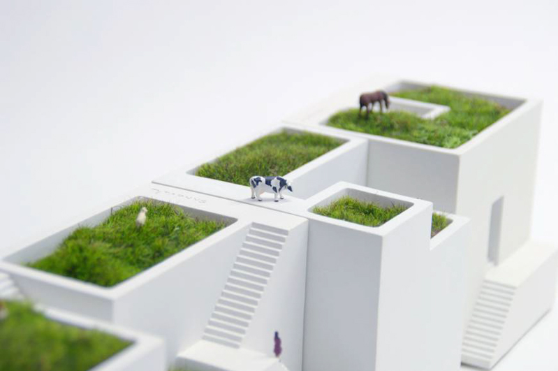 Create Your Own Mini Villages with the Bonkei Planters