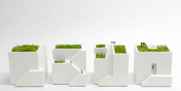 Create Your Own Mini Villages with the Bonkei Planters in home furnishings Category