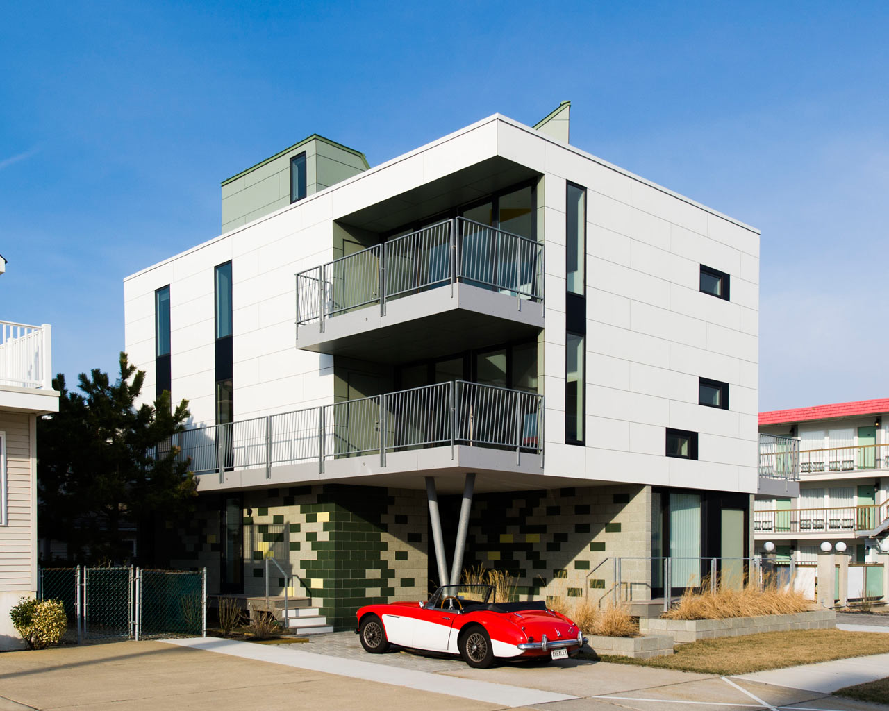 Motel-Inspired Vacation Home at the Jersey Shore