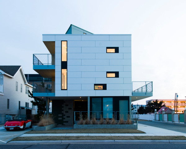 Motel Inspired Vacation Home at the Jersey Shore in main architecture  Category